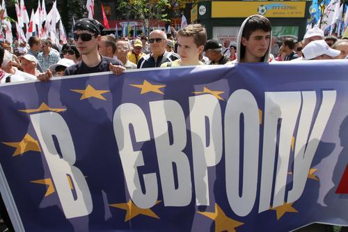 Украина пересматривает условия ассоциации с Евросоюзом