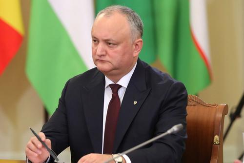 Додон заявил о росте темпа экономического сотрудничества Молдавии с Россией