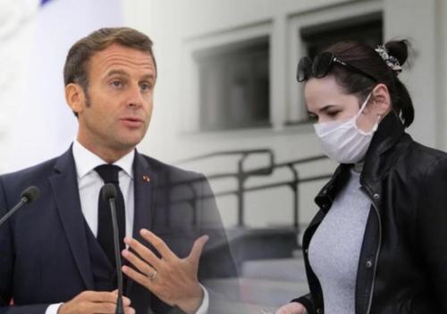 Во Франции Мари Ле Пен поддерживают больше, чем Макрона