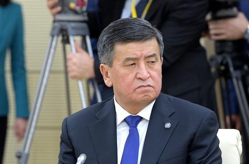 Президент Киргизии подписал указ об отставке правительства и премьер-министра страны