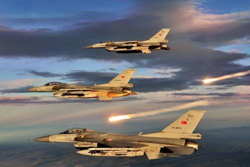 Истребители ВВС Турции участвовали в карабахской войне с 27 сентября
