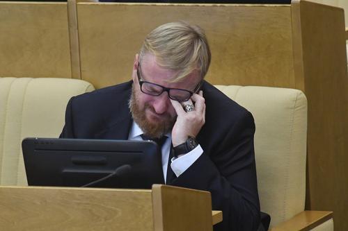 Ноту протеста отправил Азербайджан России из-за визита Милонова в Карабах