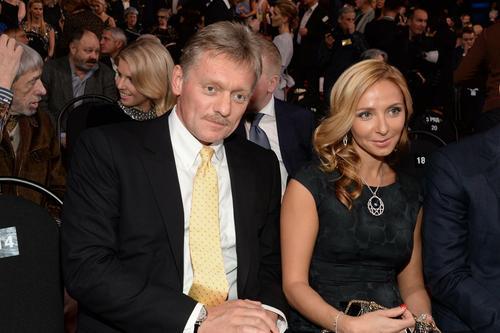 Татьяна Навка поздравила Дмитрия Пескова с днём рождения
