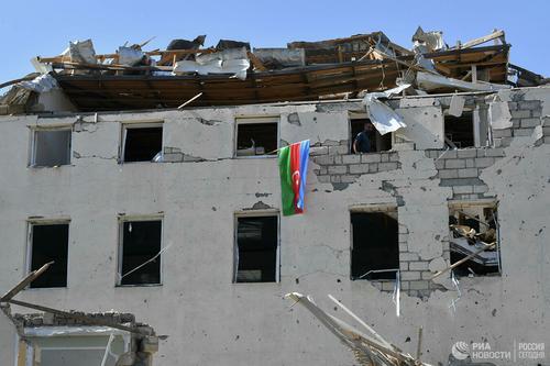 Алиев заявил о взятии азербайджанской армией города Физули в Карабахе
