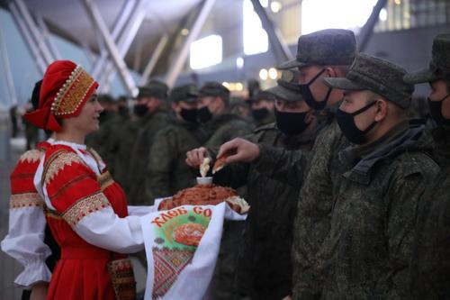Войсковые подразделения ЦВО вернулись в Россию с учения ОДКБ «Нерушимое братство-2020» в Белоруссии