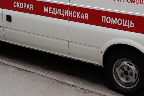 Четверо детей пострадали в перевернувшемся в Санкт-Петербурге микроавтобусе