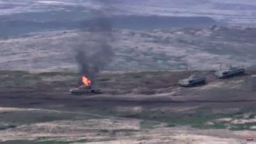 Азербайджан заявил об уничтожении двух беспилотников армянских ВС