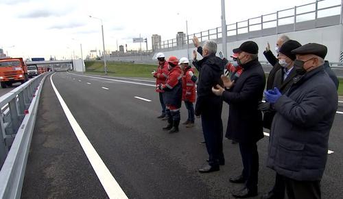 Собянин открыл движение на последнем участке проспекта Генерала Дорохова