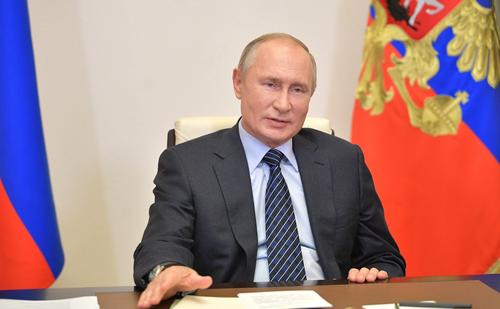 Путин: Власти РФ не планируют вводить жесткие ограничения из-за пандемии коронавирусной инфекции