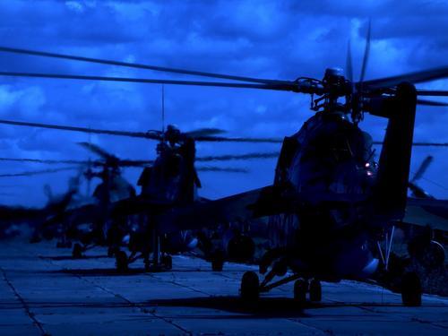 Ночное учение экипажей армейской авиации ЦВО стартовало в трех регионах России