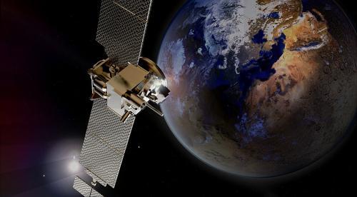 Космическое управление Китая сообщило, что китайский марсианский зонд успешно выполнил маневр в дальнем космосе