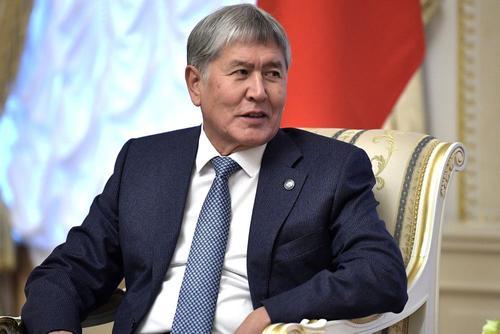 Бывший глава Киргизии Алмазбек Атамбаев объявил голодовку