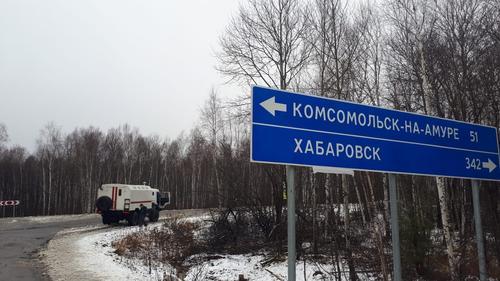 В Хабаровском крае сотни домов остались без света из-за сильного снегопада и шквалистого ветра