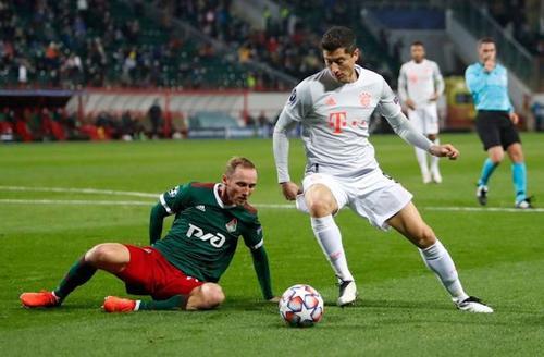 «Локомотив» в равной борьбе уступил «Баварии» (Мюнхен) - 1:2
