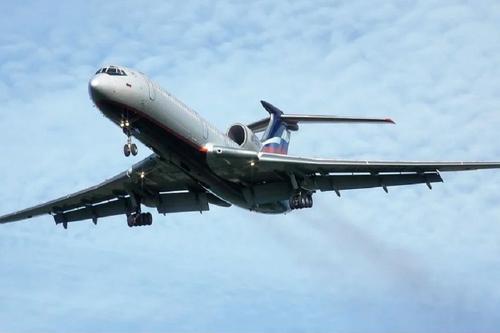 Самолет Ту-154 совершил последний гражданский перелет в России
