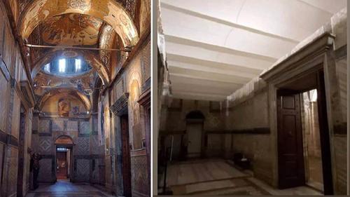В РПЦ пришли в ужас от вида храма, превращенного в мечеть в Стамбуле