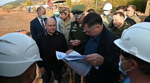 МО России ускоренными темпами строит новые объекты обеспечения Крыма пресной водой