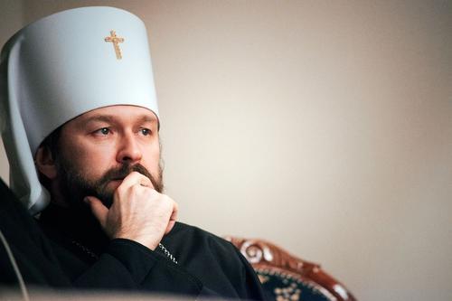 Митрополит Волоколамский Иларион призвал запретить карикатуры на пророка Мухаммеда
