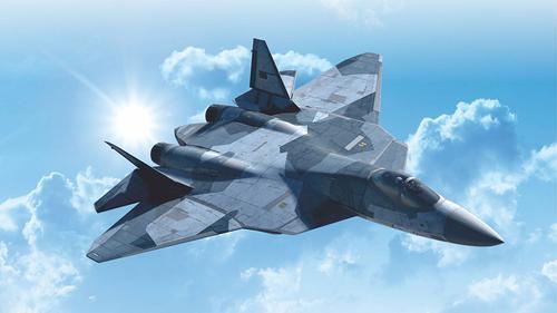 Второй серийный Су-57 совершил свой первый полет