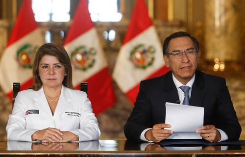 Президент Перу отправлен в отставку после импичмента