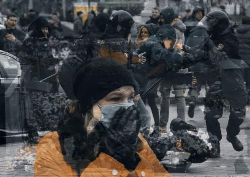 По данным правозащитников, количество задержанных на акции протеста в Минске 15 ноября превысило 1100 человек