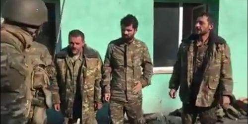 Путина попросили помочь освободить пленных армян