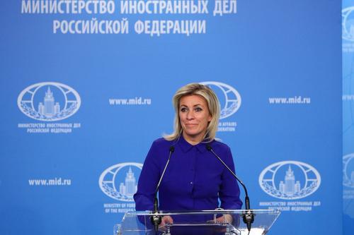 Захарова оценила призыв Германии говорить с Россией с «позиции силы»