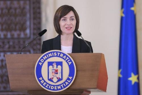 Санду назвала несправедливым долг Молдавии за газ для Приднестровья