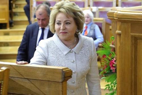 Матвиенко предложила назначить Минтруд куратором семейной политики