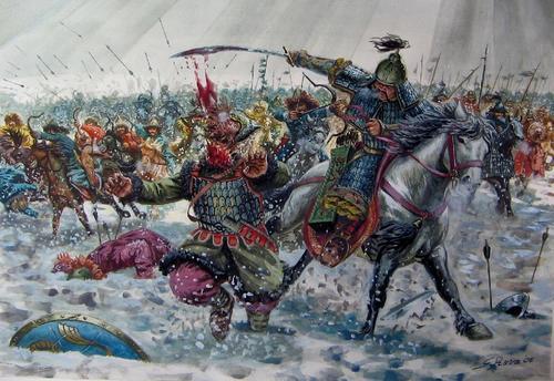 В этот день в 1237 году началось первое монгольское нашествие на Русь