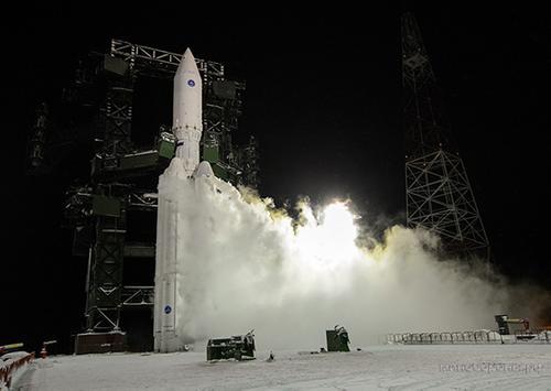 Второй испытательный пуск тяжелой «Ангары-А5» осуществлен с космодрома Плесецк