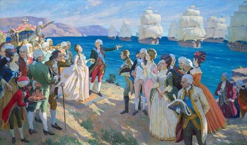 Тайная переписка Канцелярии иностранных дел Российской империи времен Екатерины II