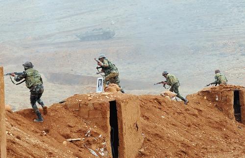 ВКС России отправили в Сирию «летающий радар» А-50 после попыток протурецких джихадистов начать штурм города Айн-Исса