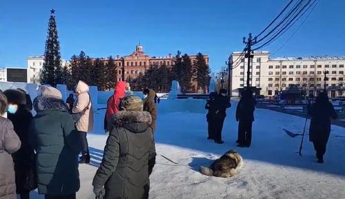 Очередная акция в поддержку Фургала в Хабаровске завершилась задержаниями