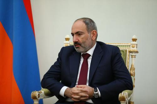 Пашинян предупредил о вмешательстве  России в случае посягательства на Армению