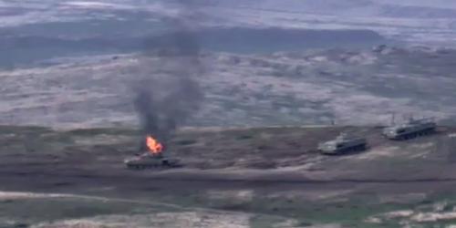 Минобороны Азербайджана сообщило о гибели военного в Карабахе