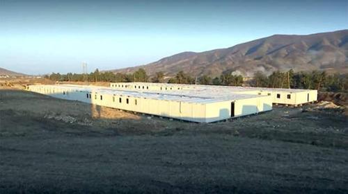 Специалисты МТО возвели два блочно-модульных городка в Нагорном Карабахе