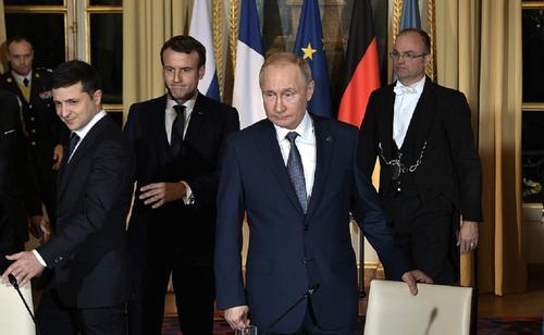 У Зеленского сообщили о намерении провести «нормандский саммит» в 2021 году