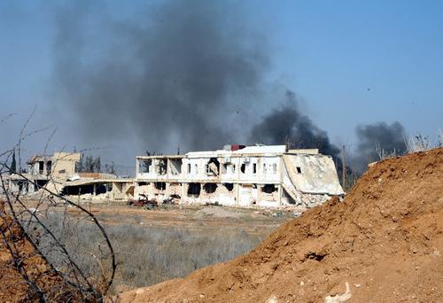 Опубликовано видео боевого применения российской системы «Подсветчик» против джихадистов в Сирии