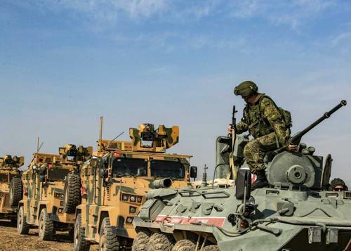 Турецкие войска уходят из сирийской провинции Алеппо