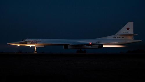 Стратегические «Белые лебеди» оттачивают ночные полеты