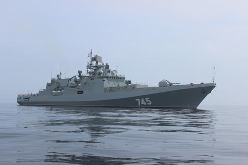 Два боевых корабля Черноморского флота приступили к аттестации в Средиземном море