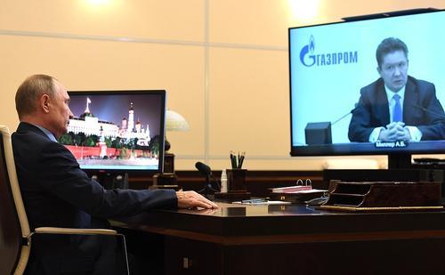 Миллер заявил Путину: «К 2030 году будет на 100 % завершена газификация в России»