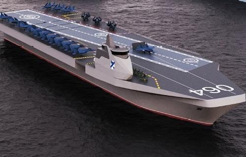 Российские кораблестроители подготовили проект отечественного вертолетоносца
