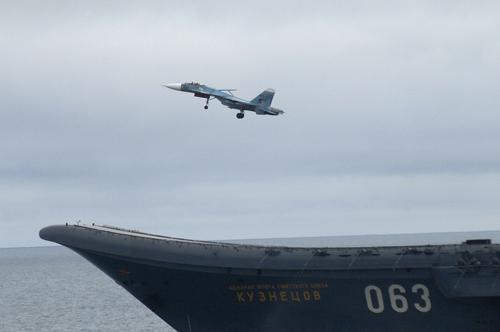 Sohu: российский «Адмирал Кузнецов» сложно рассматривать в качестве авианосца, обладающего высокой боевой мощью