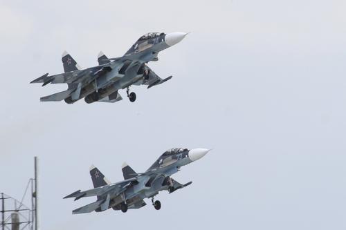 Истребительная авиация Балтфлота РФ отработала учебные воздушные бои близ морских границ стран НАТО