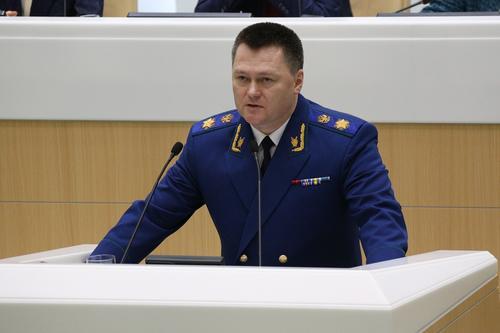 Генпрокурор России Игорь Краснов назвал Навального лицом, совершившим преступление