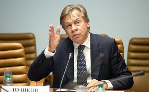 Пушков предложил переименовать партию Зеленского: «Слуги Байдена»