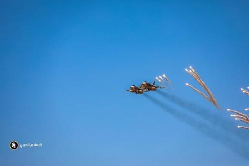 У Ливийской национальной армии есть фронтовые бомбардировщики Су-24