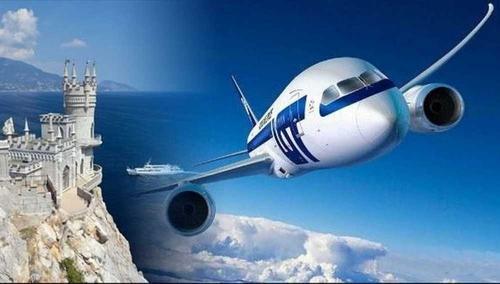 Украина разыскивает российские самолеты, совершающие рейсы в Крым, через Интерпол